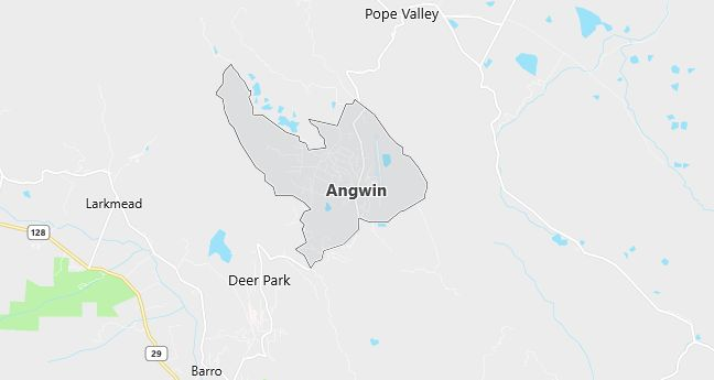 Map of Angwin, CA