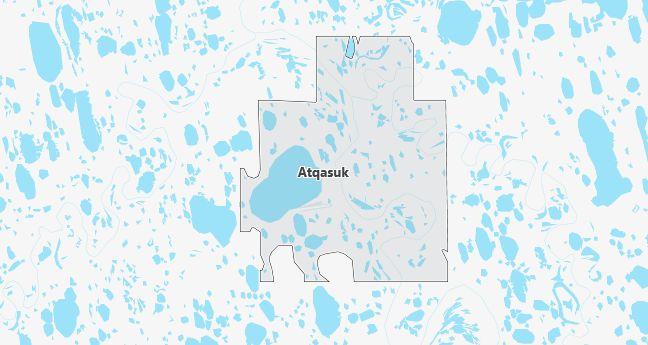 Map of Atqasuk, AK
