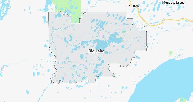 Map of Big Lake, AK