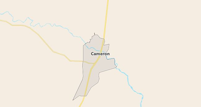 Map of Cameron, AZ