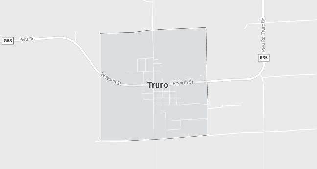 Map of Truro, IA