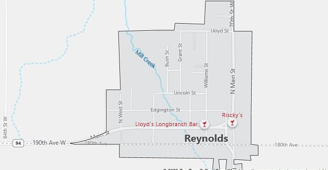Map of Reynolds, IL