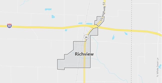 Map of Richview, IL